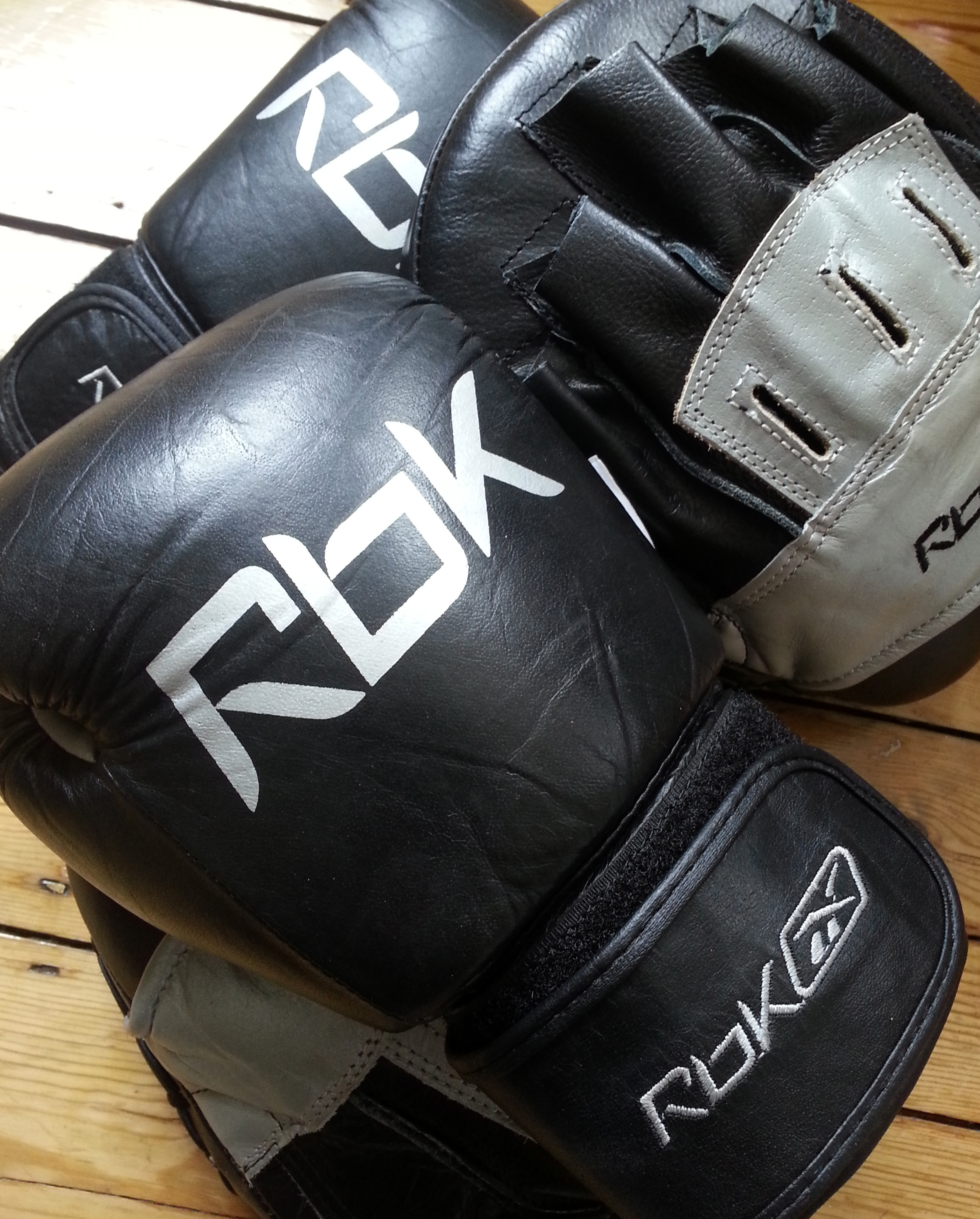 Pad boxing training with Hillcliff Personal Training